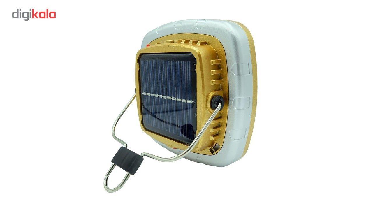 چراغ قوه کمپینگ شارژی مدل خورشیدی main 1 3