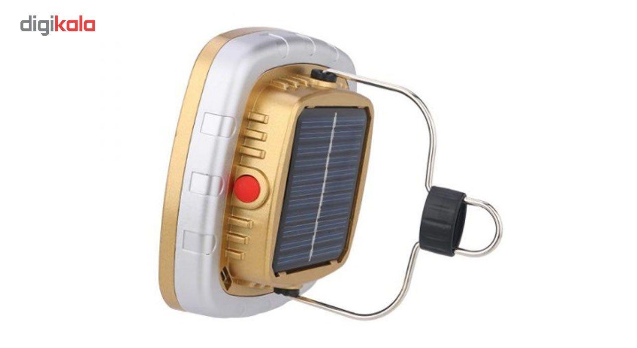 چراغ قوه کمپینگ شارژی مدل خورشیدی main 1 4