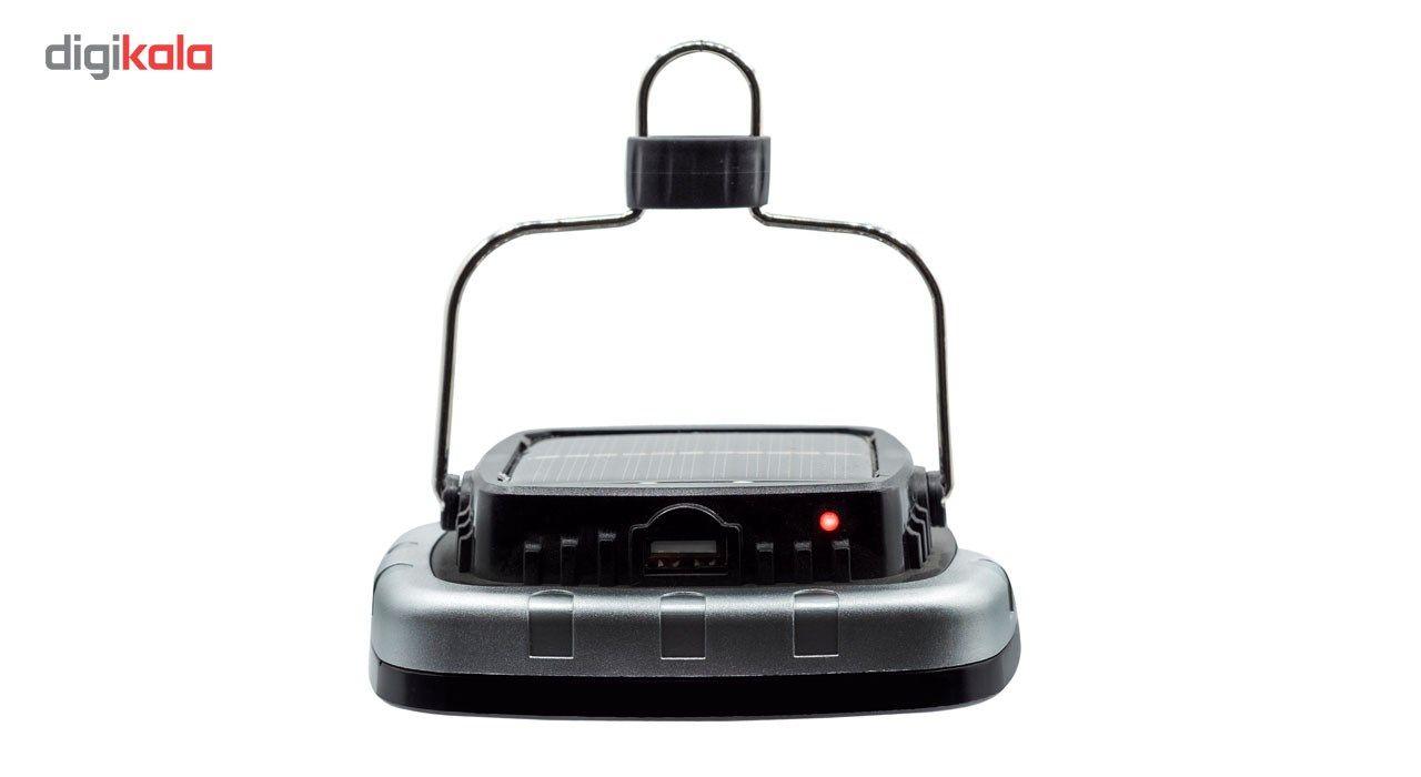 چراغ قوه کمپینگ شارژی مدل خورشیدی main 1 5