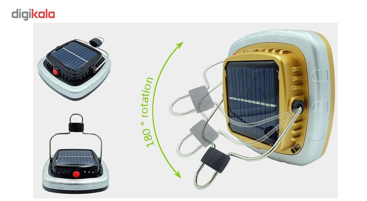 چراغ قوه کمپینگ شارژی مدل خورشیدی main 1 7