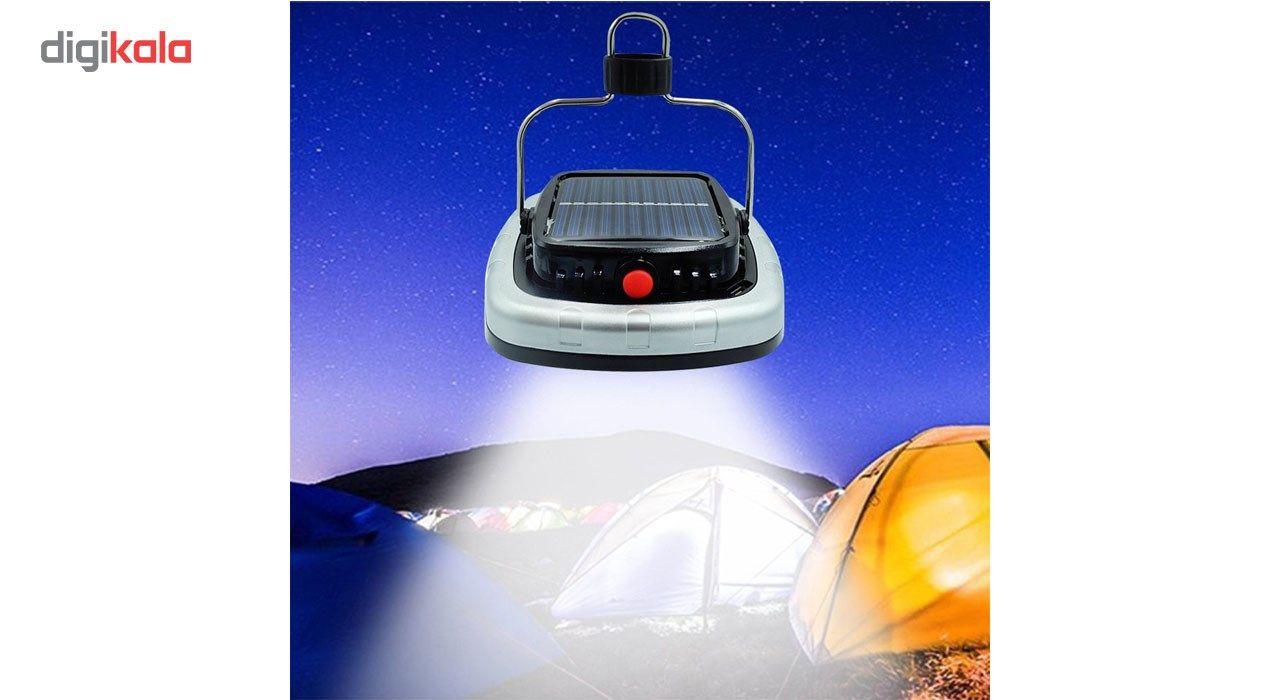 چراغ قوه کمپینگ شارژی مدل خورشیدی main 1 9