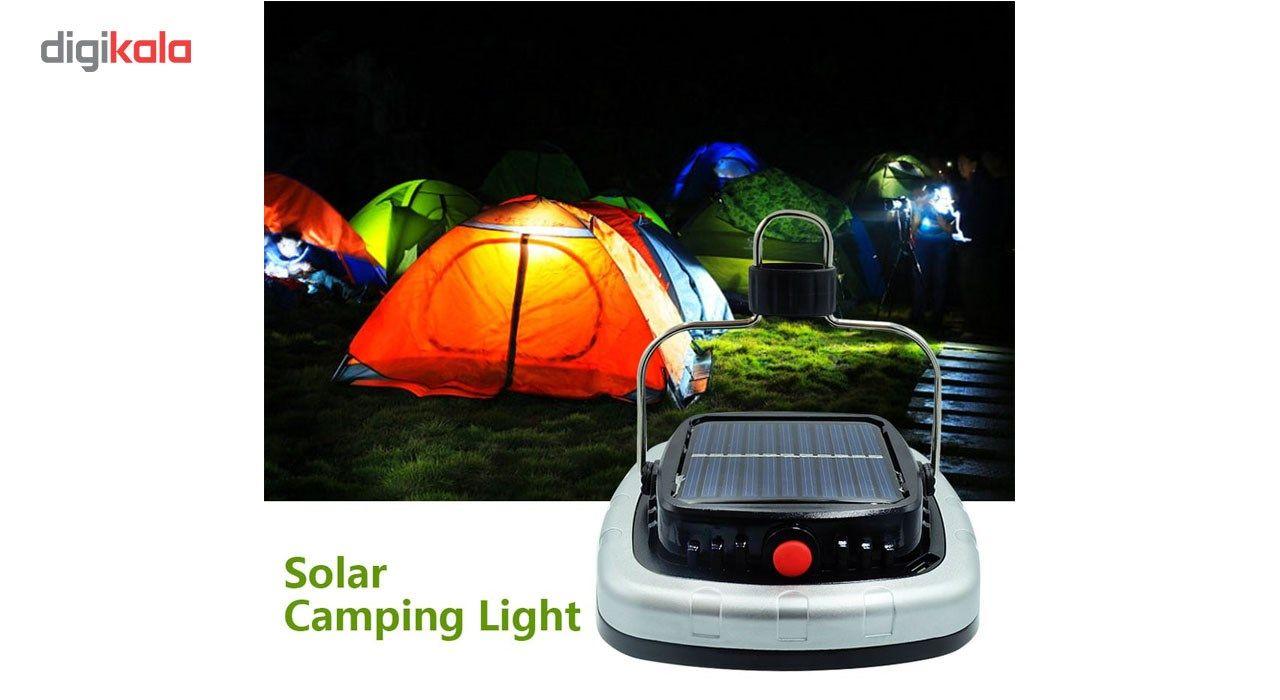 چراغ قوه کمپینگ شارژی مدل خورشیدی main 1 12