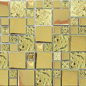 کاشی شیشه ای ست مدل G.GG.4848