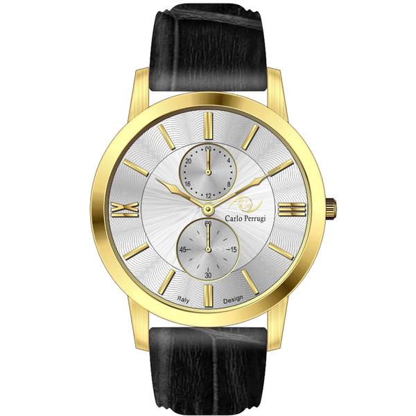 ساعت مچی عقربه ای مردانه کارلو پروجی مدل CG2050-3