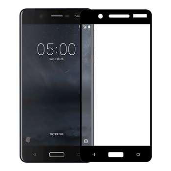 محافظ صفحه نمایش تمپرد مدل فول چسب مناسب برای گوشی موبایل نوکیا 5