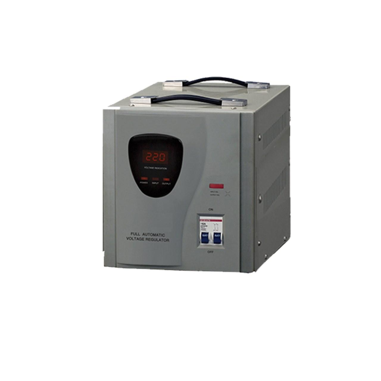 استابیلایزر تکام مدل TS7221- AVR10000   ظرفیت 10000VA