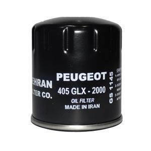 فیلتر روغن خودرو بهران فیلتر مدل GS1145 مناسب برای پژو 405