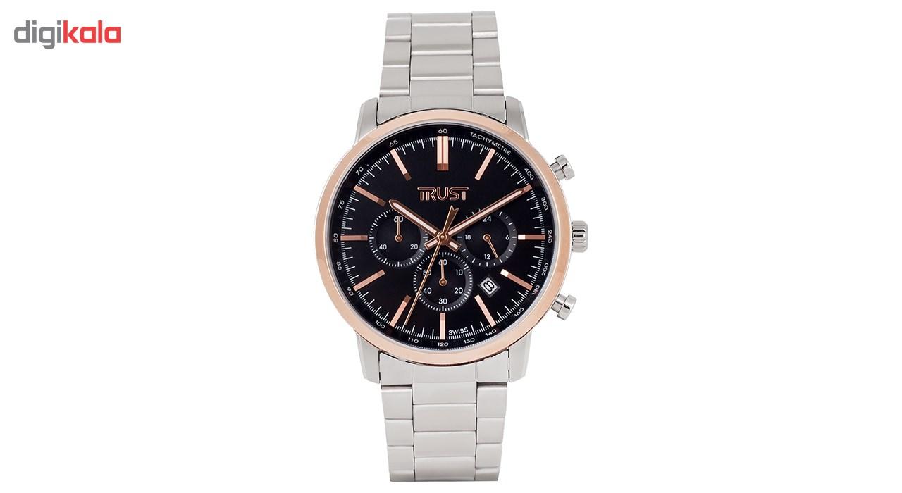 ساعت مچی  مردانه تراست مدل G458JRD              اصل