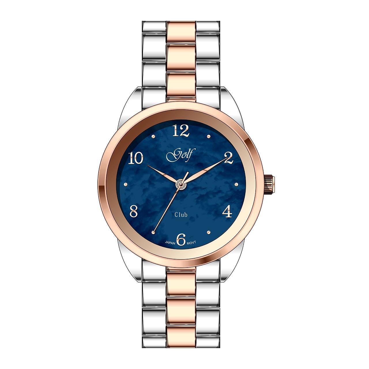 ساعت مچی عقربه ای زنانه گلف مدل L0110-1