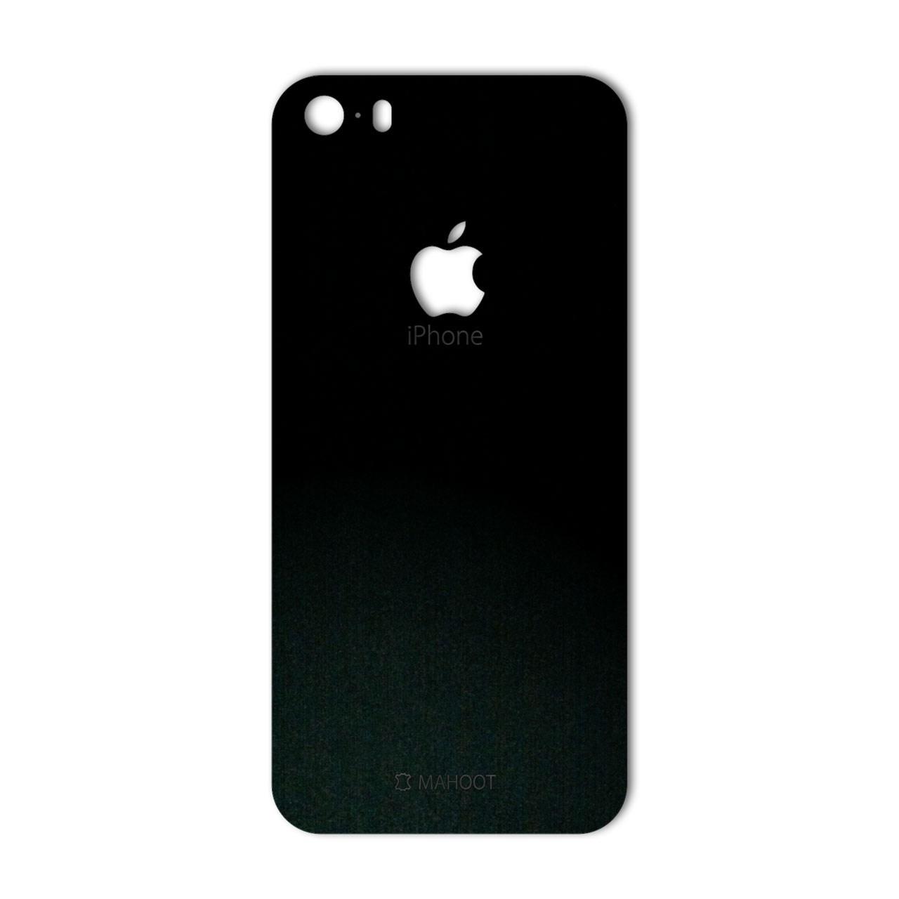 برچسب پوششی ماهوت مدل Black-suede Special مناسب برای گوشی  iPhone 5S-SE