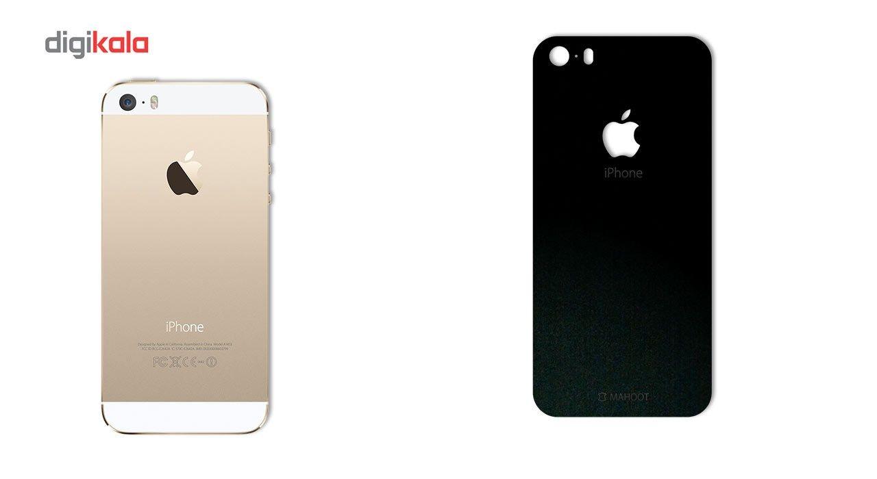 برچسب پوششی ماهوت مدل Black-suede Special مناسب برای گوشی  iPhone 5S-SE main 1 1