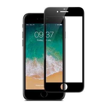 محافظ صفحه نمایش شیشه ای جی سی پال مدل 3D  مناسب برای گوشی آیفون 8