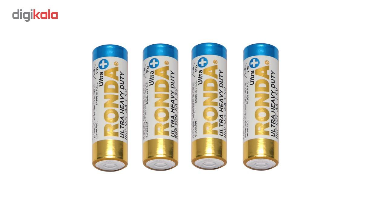باتری قلمی روندا مدل R6P بسته 4 عددی main 1 1
