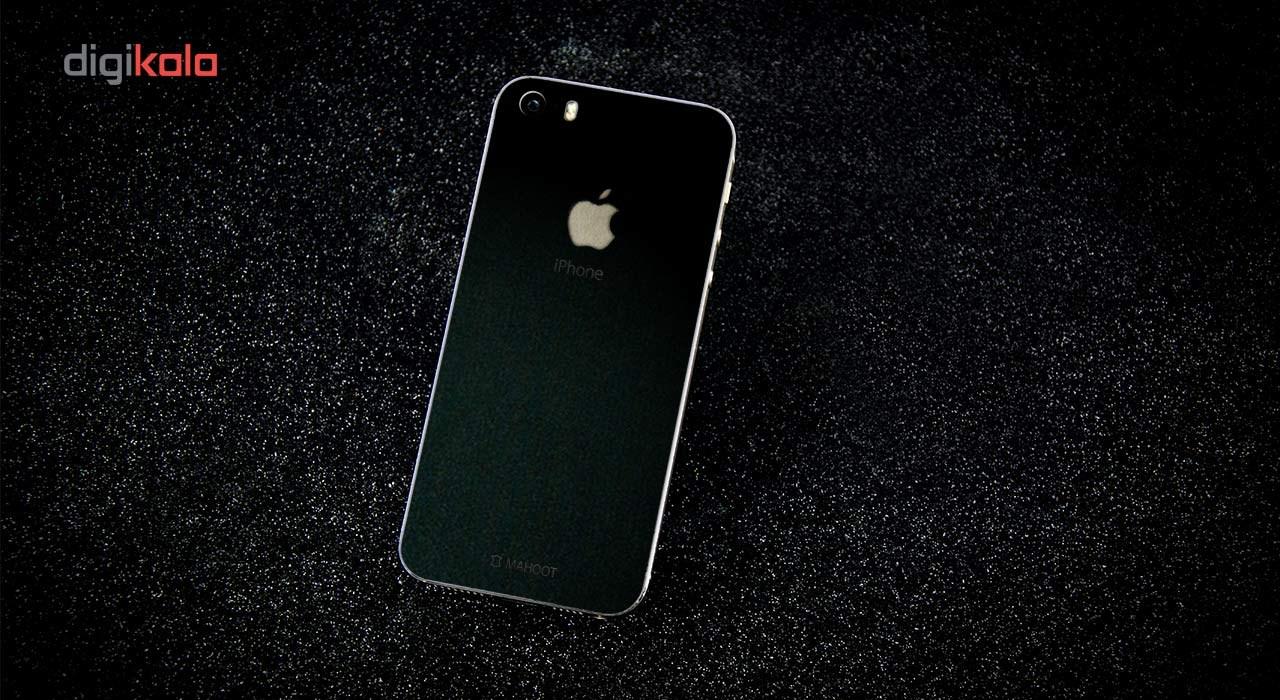 برچسب پوششی ماهوت مدل Black-suede Special مناسب برای گوشی  iPhone 5S-SE main 1 3