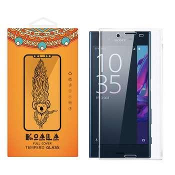 محافظ صفحه نمایش شیشه ای کوالا مدل Full Cover مناسب برای گوشی موبایل سونی Xperia X