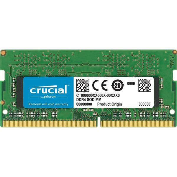 رم لپ تاپ DDR4 تک کاناله 2400 مگاهرتز CL17 کروشیال ظرفیت 16 گیگابایت | Crucial DDR4 2400MHz CL17 Single Channel Laptop RAM - 16GB