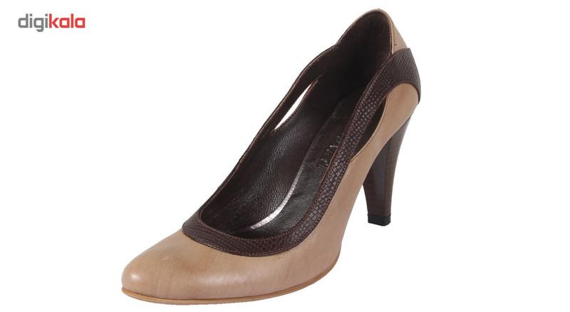 کفش چرم زنانه  شهرچرم مدل 27-T296134