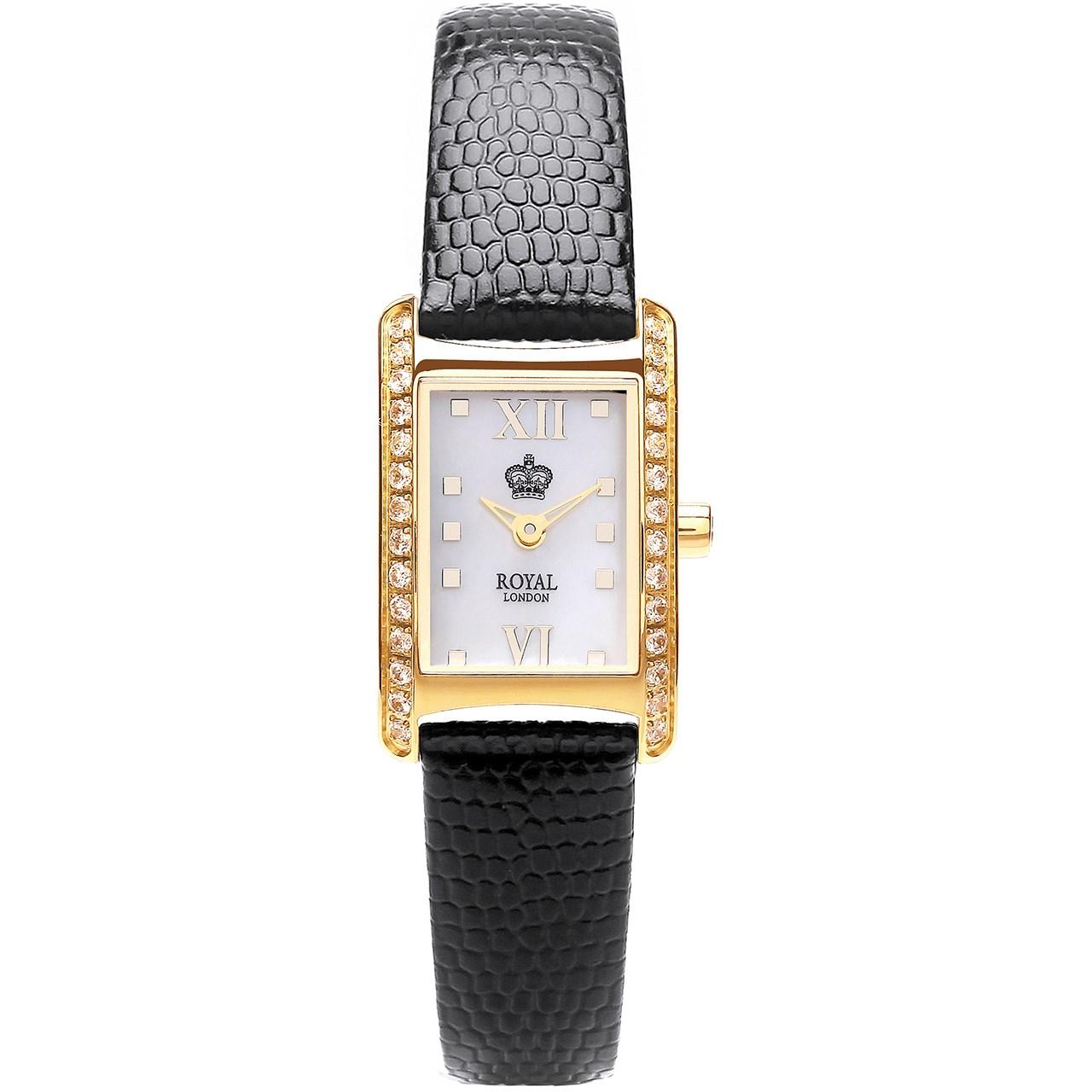 ساعت مچی عقربه ای زنانه رویال مدل RL-21167-03