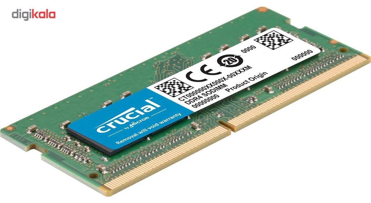 رم لپ تاپ DDR4 تک کاناله 2400 مگاهرتز CL17 کروشیال ظرفیت 16 گیگابایت