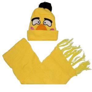 ست کلاه و شال گردن مدل عروسکی کد 08
