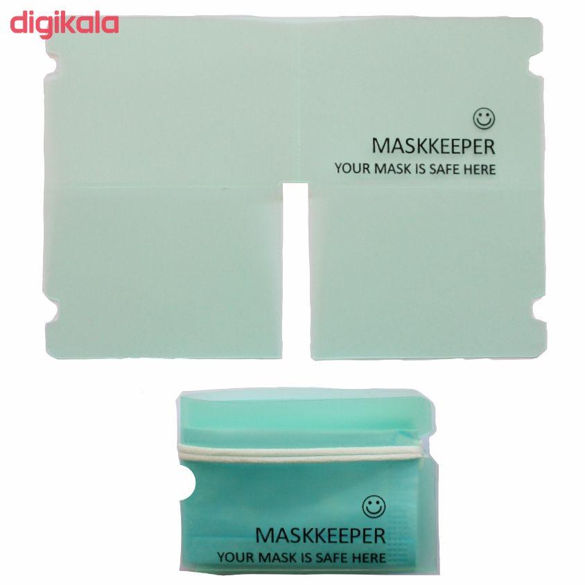 کاور نگهدارنده ماسک مدل B مجموعه ۵ عددی main 1 2