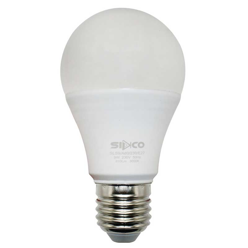 لامپ ال ای دی 9 وات سیدکو کد 009 پایه E27