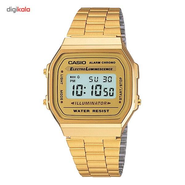 ساعت مچی دیجیتالی کاسیو مدل A168WG-9WDF
