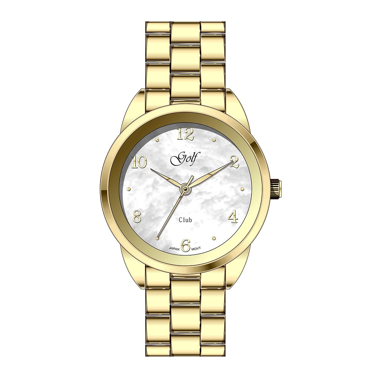 ساعت مچی عقربه ای زنانه گلف مدل L0110-3