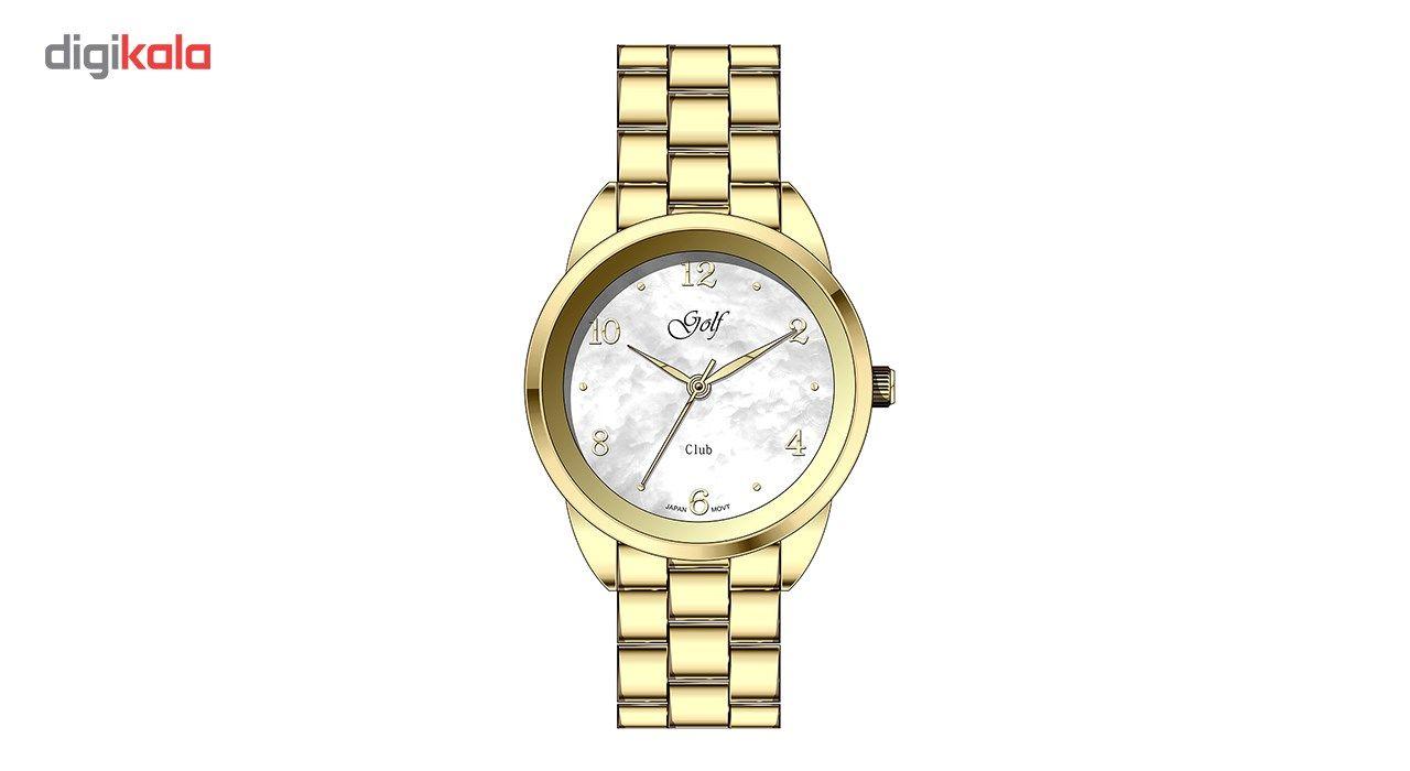 ساعت مچی عقربه ای زنانه گلف مدل L0110-3 -  - 2