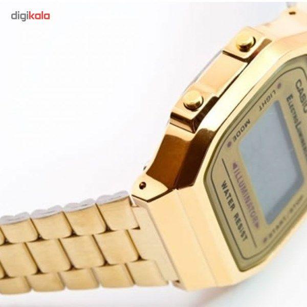 ساعت مچی دیجیتالی کاسیو مدل A168WG-9WDF -  - 2