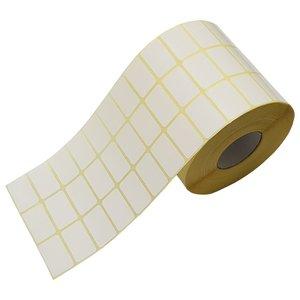 برچسب پرینتر لیبل زن نیک مدل NK3018 کاغذی سفید - رول 8000 عددی