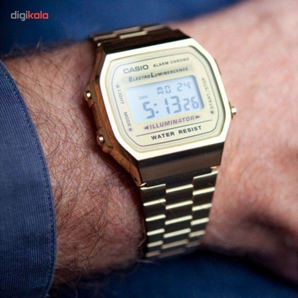 ساعت مچی دیجیتالی کاسیو مدل A168WG-9WDF -  - 3