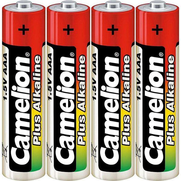 باتری نیم قلمی کملیون مدل Plus Alkaline بسته 4 عددی