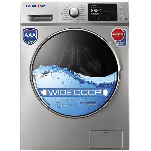 ماشین لباسشویی پاکشوما مدل WFI-81413  با ظرفیت 8 کیلوگرم
