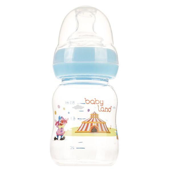 شیشه شیر بیبی لند مدل 307Circus ظرفیت 80 میلی لیتر