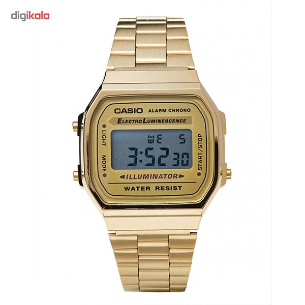 ساعت مچی دیجیتالی کاسیو مدل A168WG-9WDF -  - 5