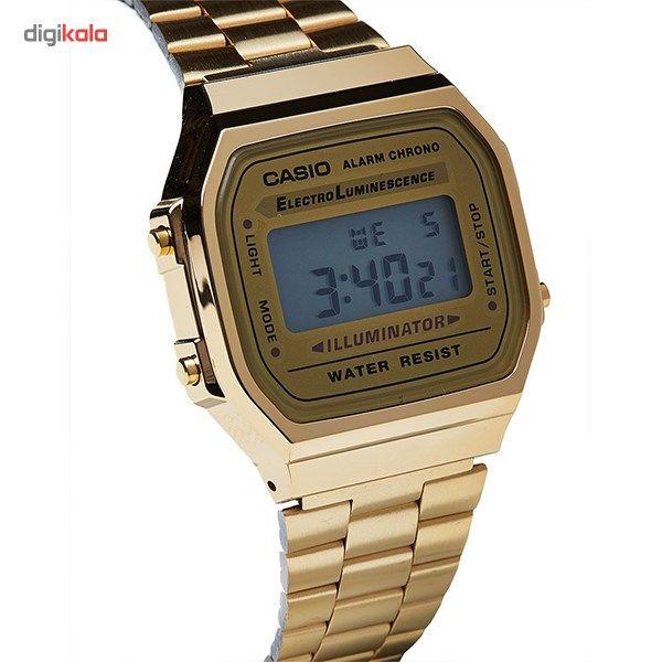 ساعت مچی دیجیتالی کاسیو مدل A168WG-9WDF -  - 6