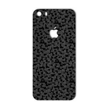 برچسب پوششی ماهوت مدل Silicon Texture مناسب برای گوشی  iPhone 5s-SE