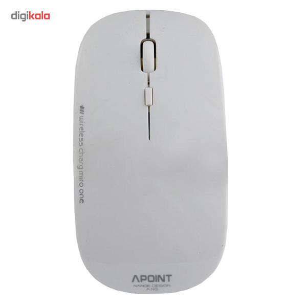 ماوس بی سیم بسیار باریک Apoint مدل +T3  Apoint T3+ Wireless Ultra Slim Mouse