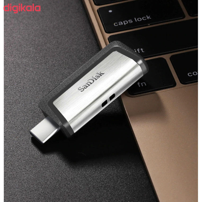 فلش مموری سن دیسک مدل Ultra Dual Drive USB Type-C ظرفیت 32 گیگابایت main 1 9