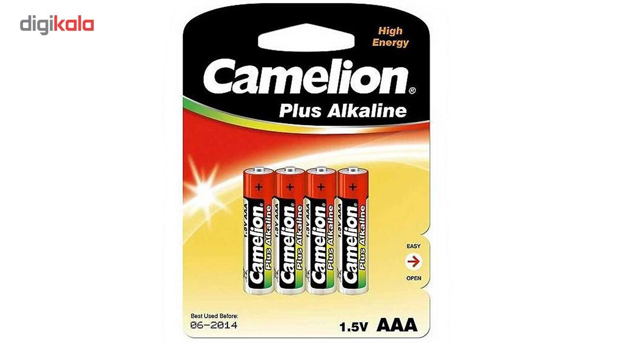 باتری نیم قلمی کملیون مدل Plus Alkaline بسته 4 عددی main 1 2