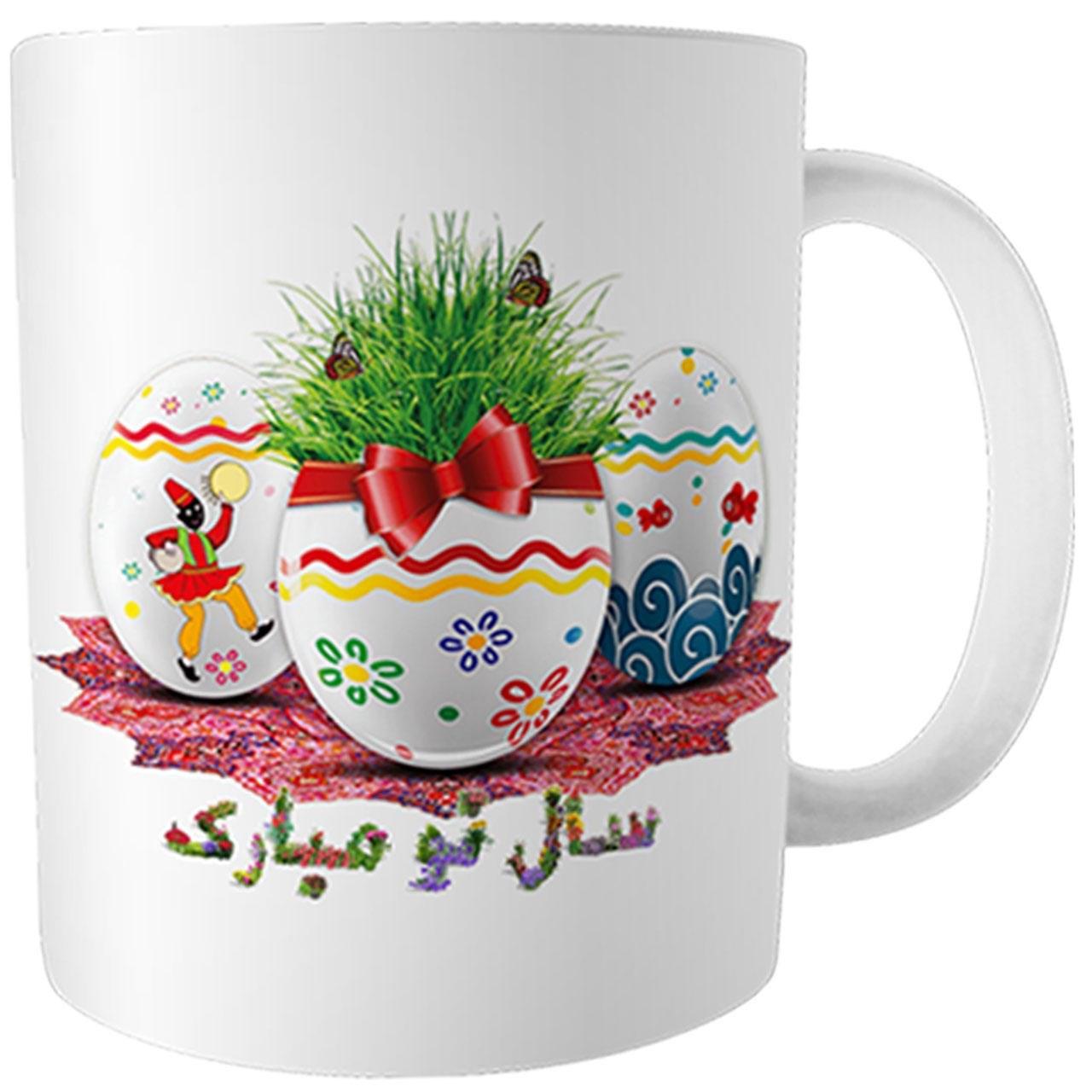 ماگ طرح عید مدلoz-3