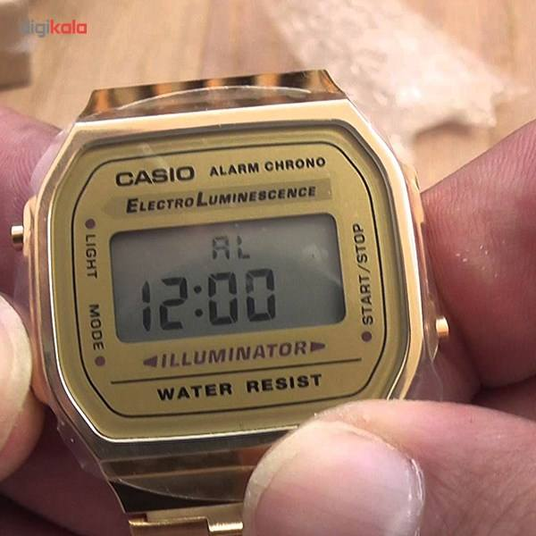 ساعت مچی دیجیتالی کاسیو مدل A168WG-9WDF -  - 9