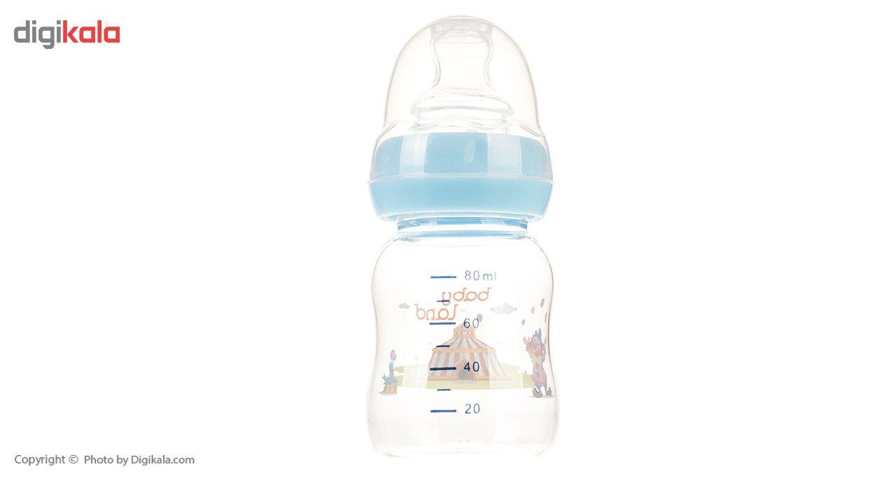 شیشه شیر بیبی لند مدل 307Circus ظرفیت 80 میلی لیتر main 1 4