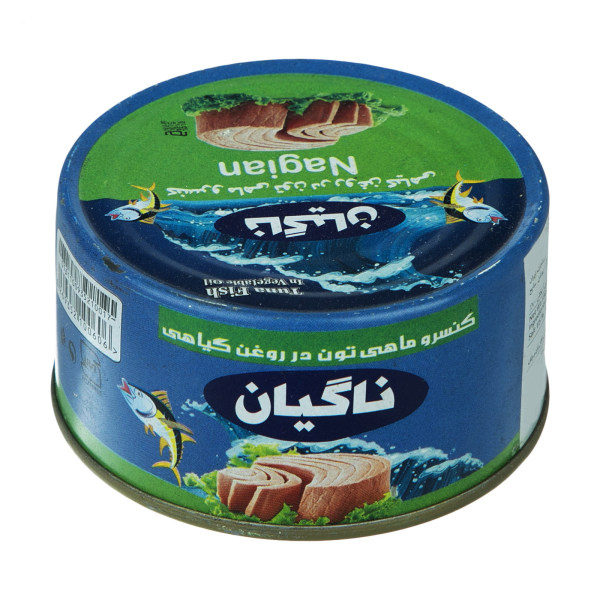کنسرو ماهی تون در روغن گیاهی ناگیان - 150 گرم