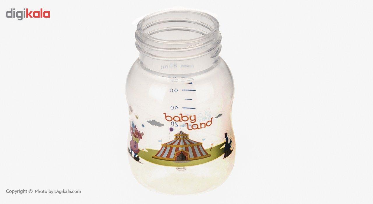 شیشه شیر بیبی لند مدل 307Circus ظرفیت 80 میلی لیتر main 1 5