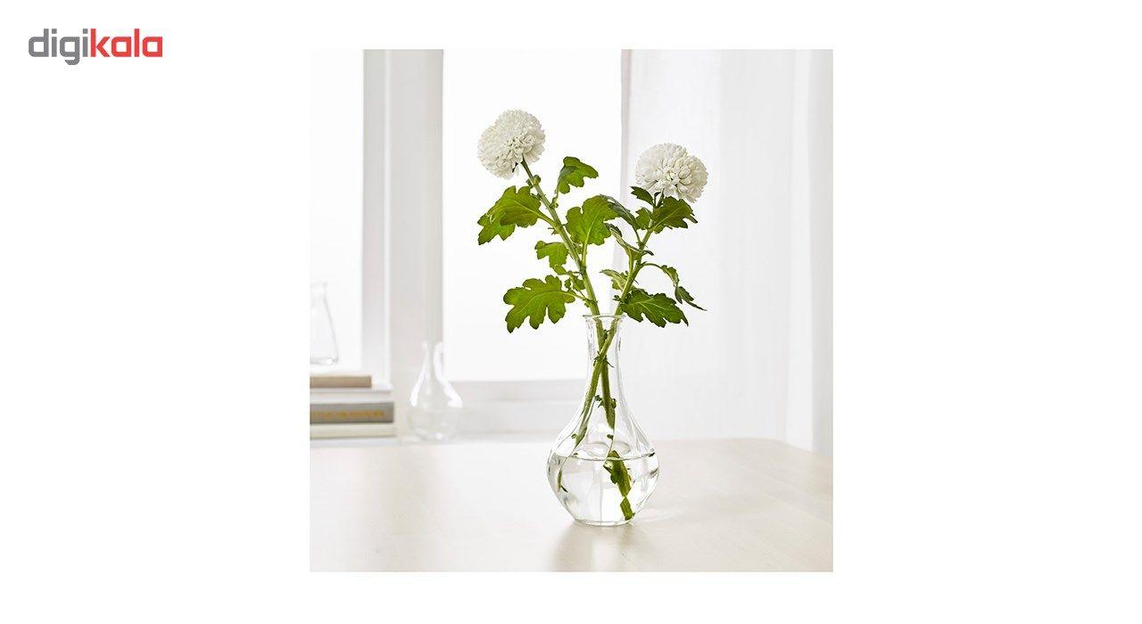 گلدان شیشه ای ایکیا مدل VILJESTRARK main 1 4