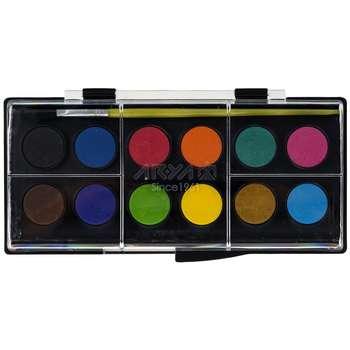 آبرنگ 12 رنگ آریا کد 2-5008