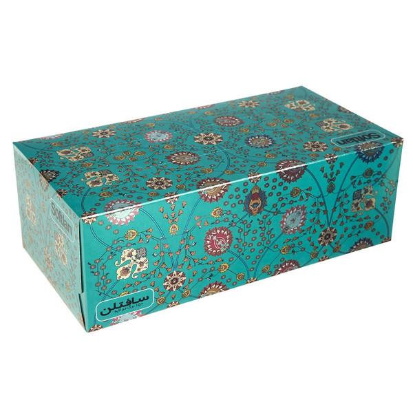 دستمال کاغذی 150 برگ سافتلن مدل Shah Abbasi