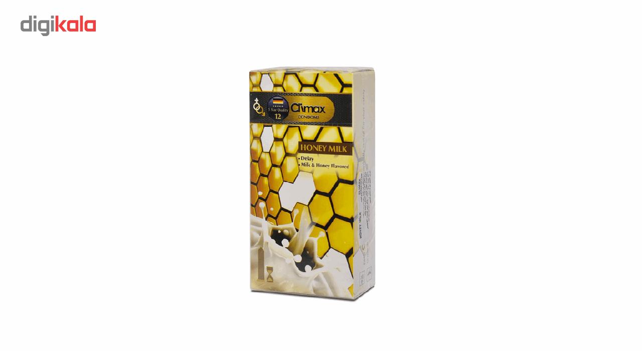 کاندوم کلایمکس مدل Honey Milk 12 بسته 12 عددی main 1 1